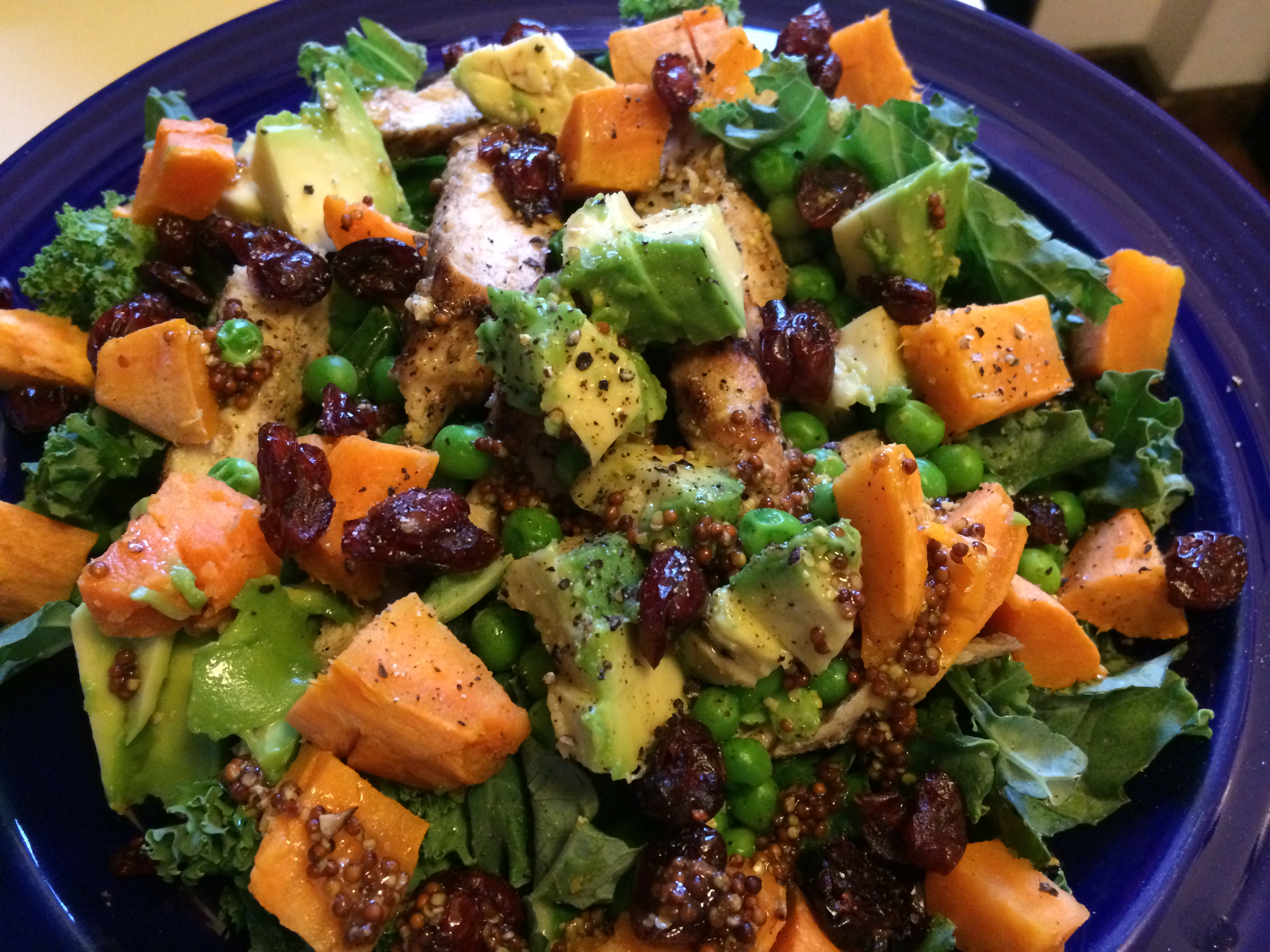 Kale Salad With Chicken And Sweet Potato Recipes — Dishmaps
